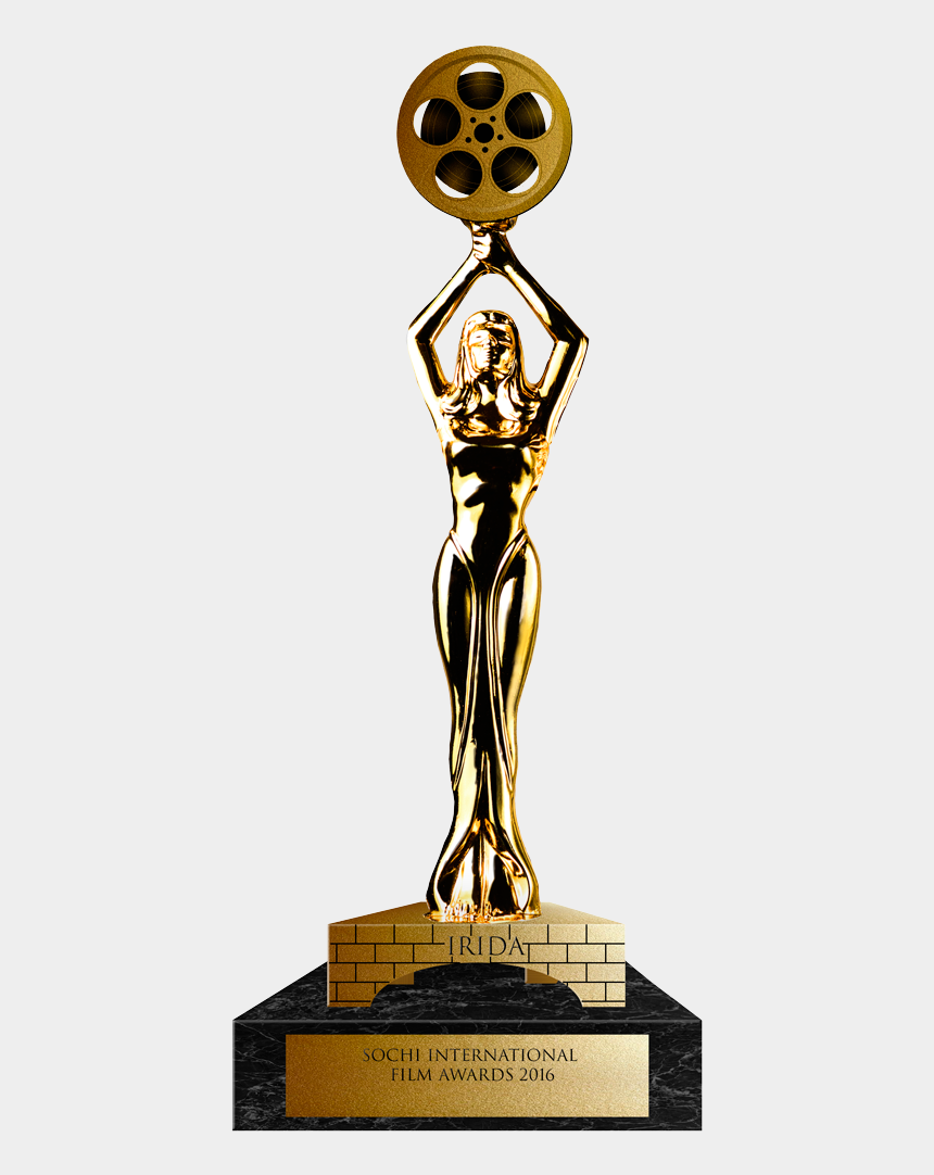 1st place trophy clipart, Cartoons - 1st Place Trophy Png - Film Festival Award Trophy