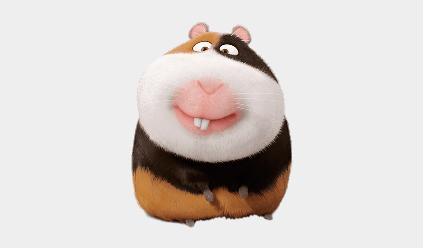 secret life of pets clipart, Cartoons - At The Movies - Hamster From Secret Life Of Pets Name