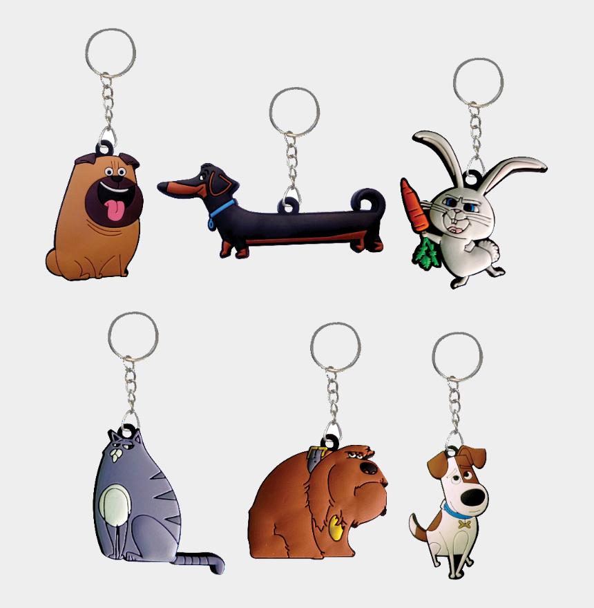 secret life of pets clipart, Cartoons - The Secret Life Of Pets™ Key Chains - Cartoon