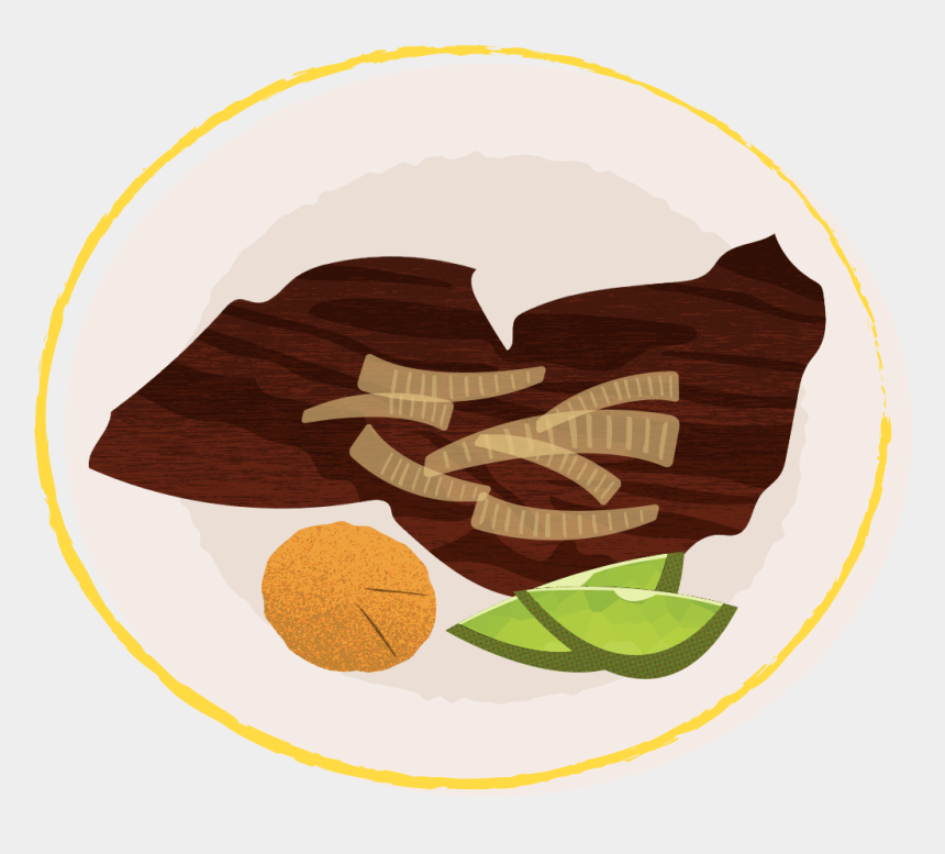 cuban food clipart, Cartoons - Illustration Of Bistec De Palomilla - Illustration