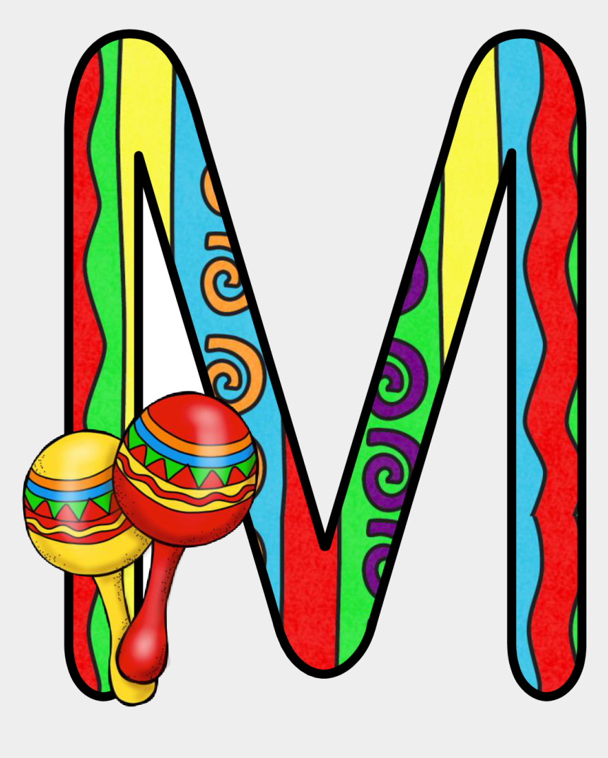 fiesta clip art, Cartoons - Pin By Gina Wong On Letter Classroom - Letter Alfabeto 5 De Mayo