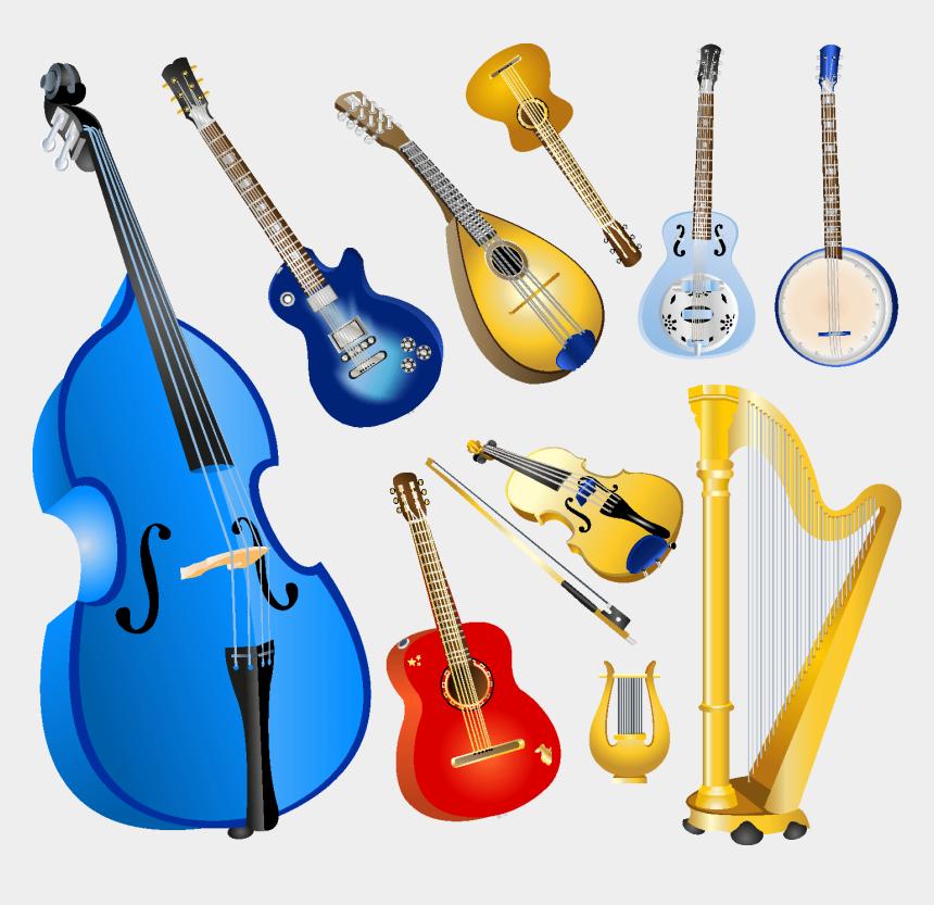 musical instruments clipart, Cartoons - Musical Instruments Elements - Musical Instruments Vector Free