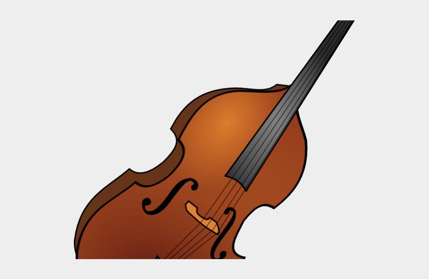 musical instruments clipart, Cartoons - Instrument Clipart Double Bass - Transparent Double Bass Clipart