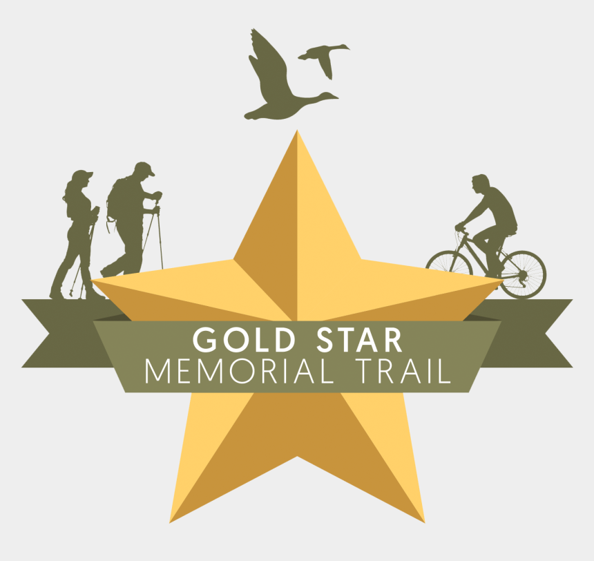 gold star clipart, Cartoons - Image Of A Gold Star Group Svg Free - Gold Star Memorial Trail