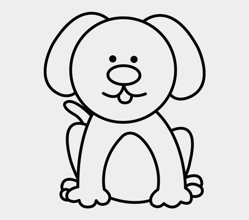 Dog Clipart Easy Small Dog Drawing Easy Cliparts