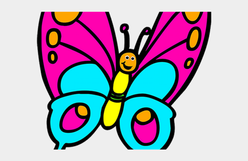 butterfly images clip art, Cartoons - Butterfly Clip Art - Butterflies Colouring Pages