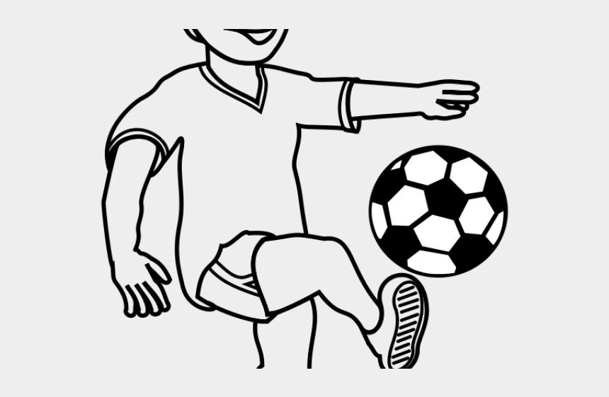 football player clipart, Cartoons - Football Player Clipart - Soccer Ball Silhouette Png