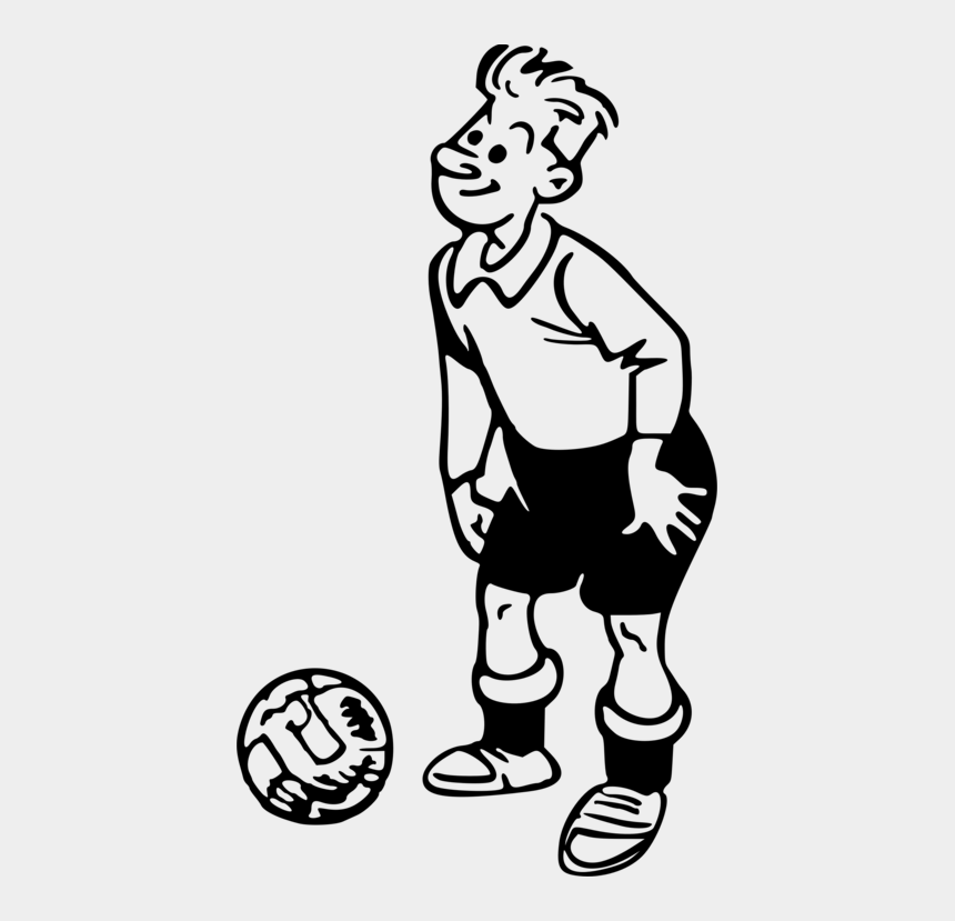 football player clipart, Cartoons - Players Clipart Line Art Football - Football Player