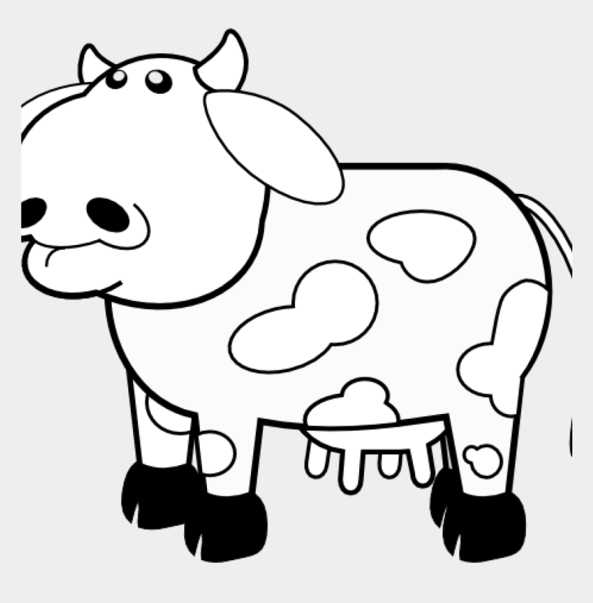 cow clipart black and white, Cartoons - Cow Clipart Black And White Clipart Hatenylo - Cow Outline
