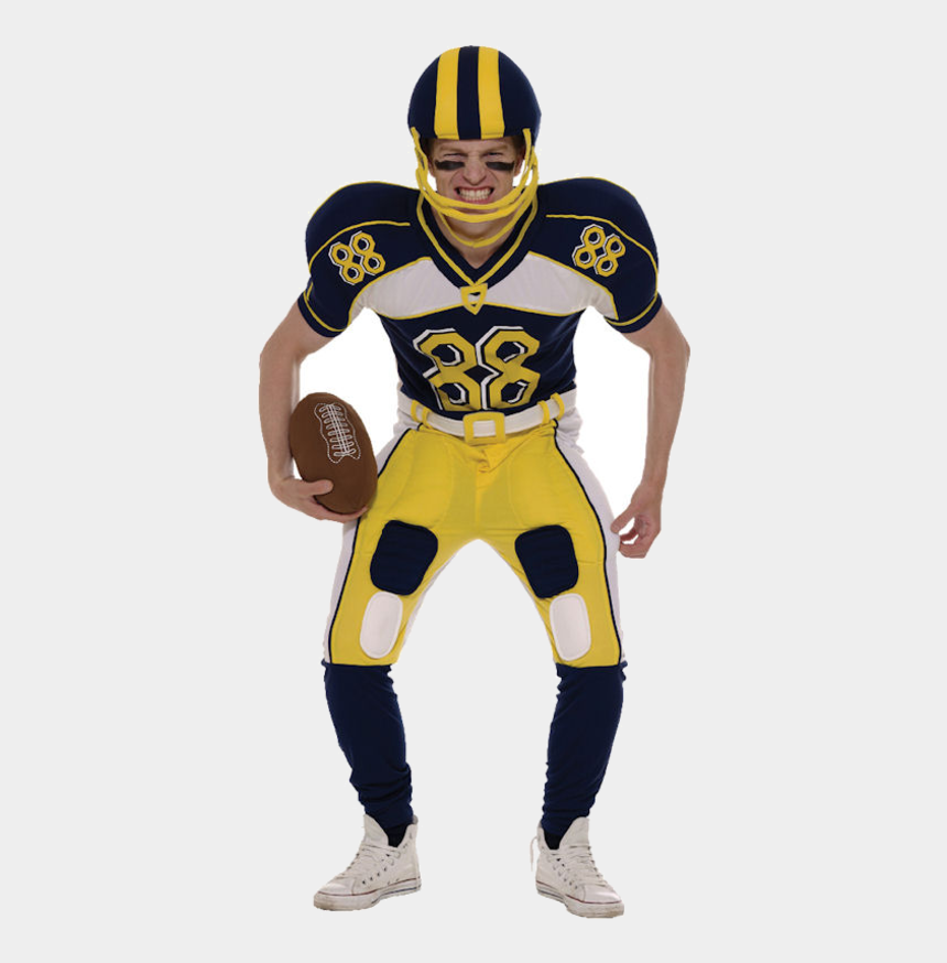 football player clipart, Cartoons - American Football Player Costume - American Football Fancy Dress