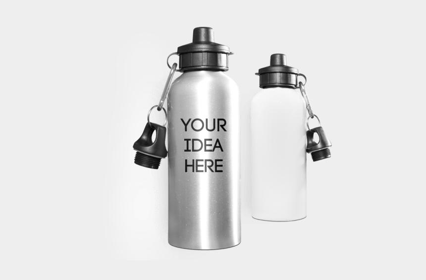water bottle clipart, Cartoons - Custom Bottles Spreadshirt Create Ⓒ - Personalised Metal Water Bottles Uk