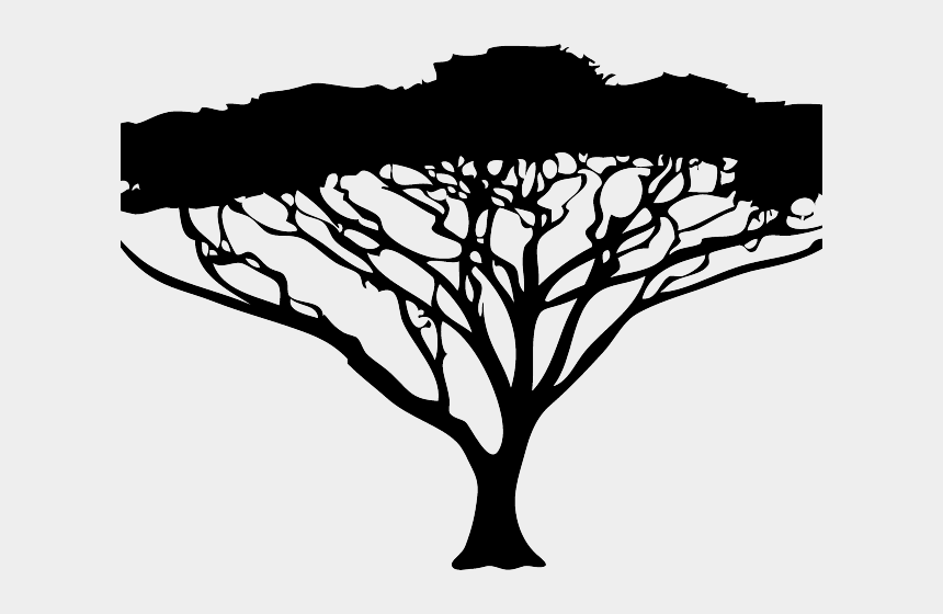 The Lion King Clipart Black And White Acacia Tree Silhouette Free Cliparts Cartoons Jing Fm
