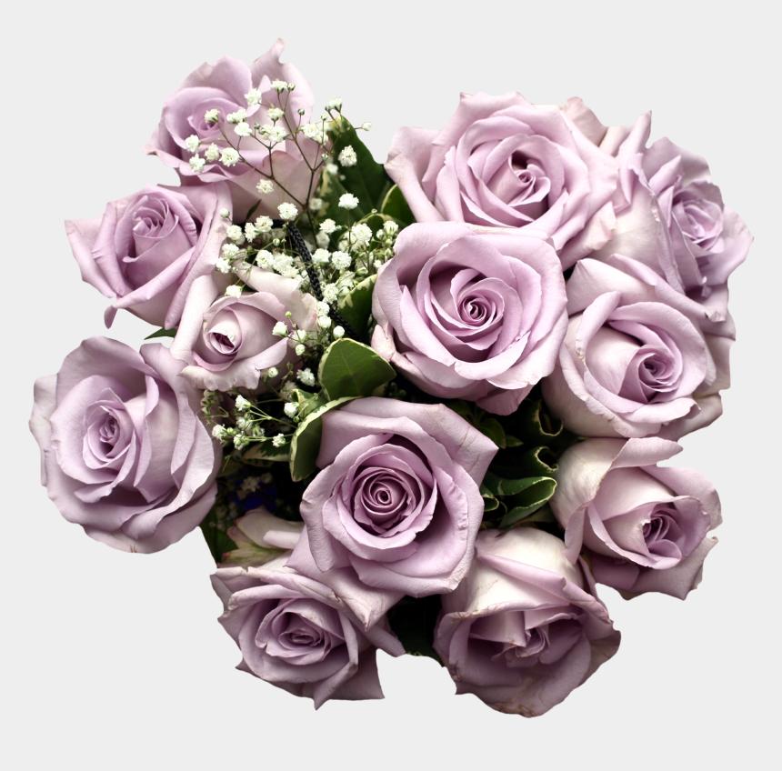 flower bouquet clipart, Cartoons - Purple Rose Flower Bouquet Light Download Hq Png - Light Purple Rose Bouquet