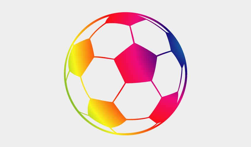 soccer ball clipart, Cartoons - Drawing American Football Line Art Clip Art - Colorful Soccer Ball Clipart