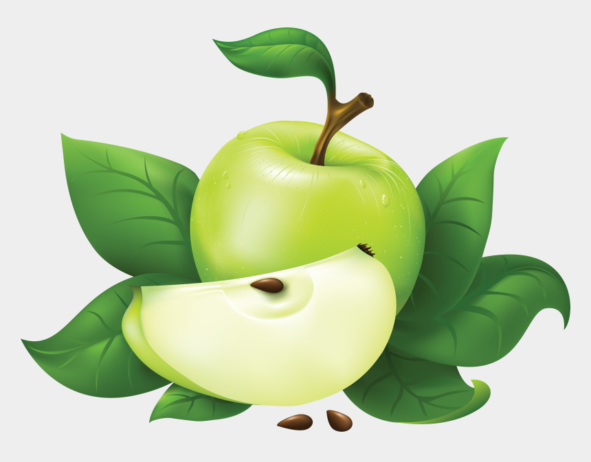 apple clipart, Cartoons - Download Green Apple Clipart - Green Apple Image Png