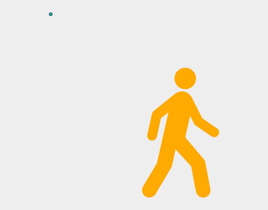 hiking clipart, Cartoons - Yellow Walking Man Clip Art - Crawl Walk Jog Run