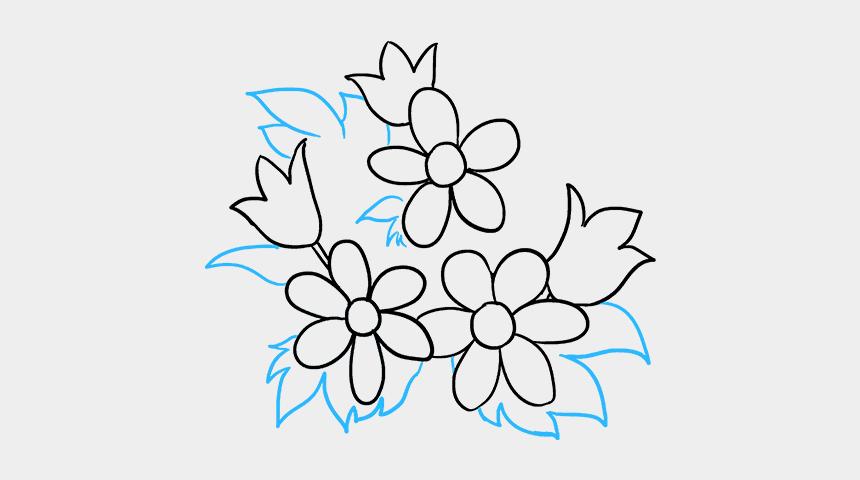 flower bouquet clipart, Cartoons - Flower Bouquet Drawing Png - Easy Flower Bouquet Drawing
