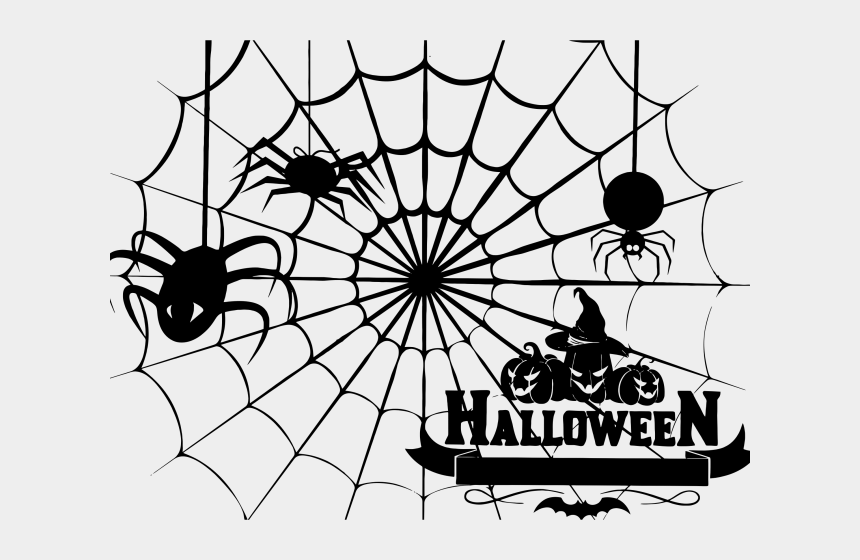 monkey clipart black and white, Cartoons - Spider Web Clipart Halloweenspider - Spider Web Clipart Halloween
