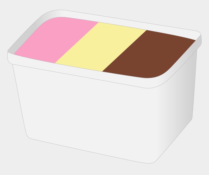 ice cream clipart, Cartoons - Ice Cream Cream Dessert Ice Food Cold Vanilla - Ice Cream Tub Vector