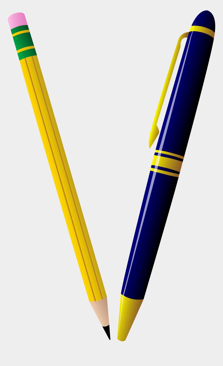 pencil clipart, Cartoons - Pen And Pencils Clipart 3 By Andrea - Pencil And Pen Clip Art