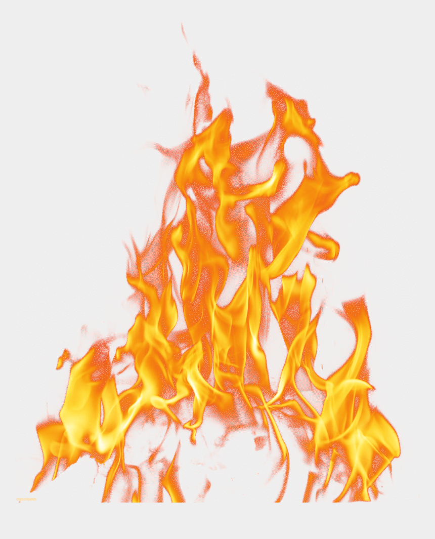 fire clipart, Cartoons - Fire Light Raging Layered Flame Transparent Clipart - Fire Images Png Hd
