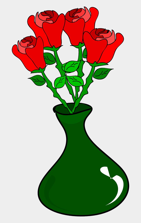 flower bouquet clipart, Cartoons - Vase Rose Drawing Flower Bouquet Download - Roses In Vase Clipart