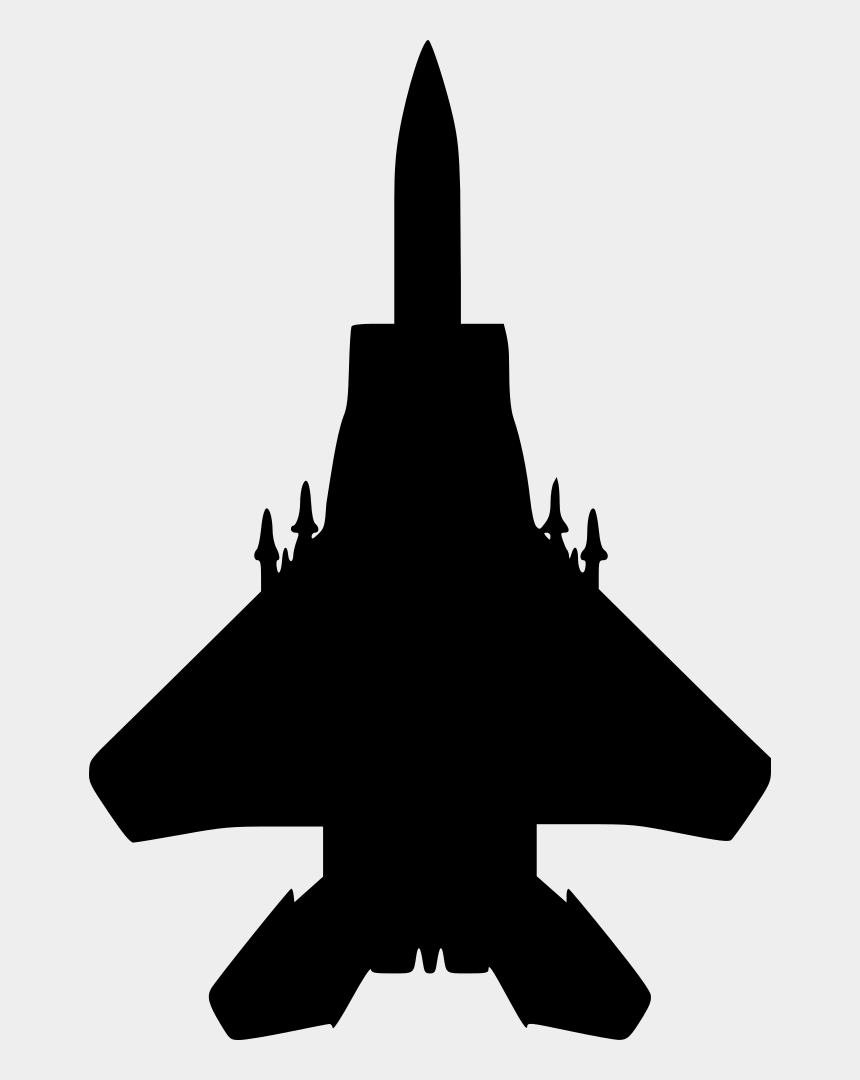 Military Aircraft Clipart Fighter Jet Silhouette Cliparts