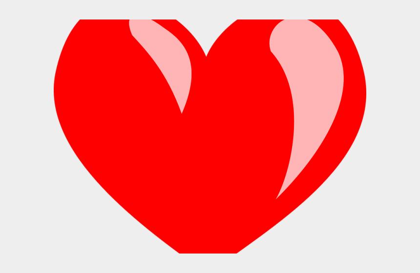 heart clipart, Cartoons - Heart Clipart Clipart Herat - Coração Vermelho Png