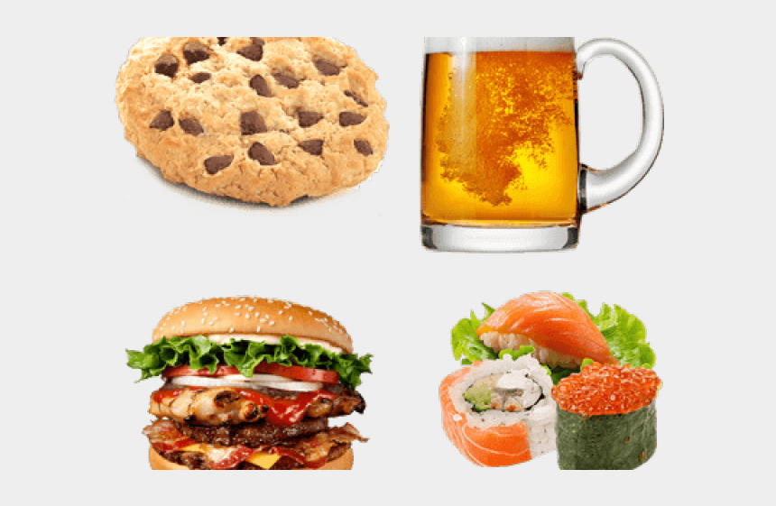 food clipart, Cartoons - Healthy Food Clipart Transparent Background - New Hungry Jacks Burger