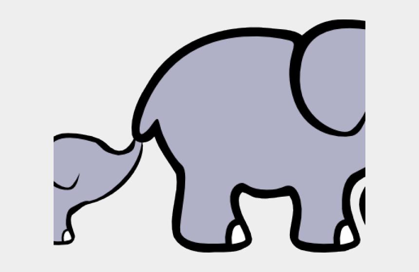 animal clipart, Cartoons - Baby Animal Clipart Big Small Elephant - Clipart Elephants