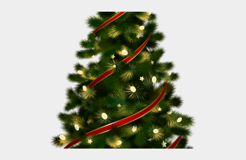 christmas tree clipart, Cartoons - Christmas Tree Clipart Transparent Background