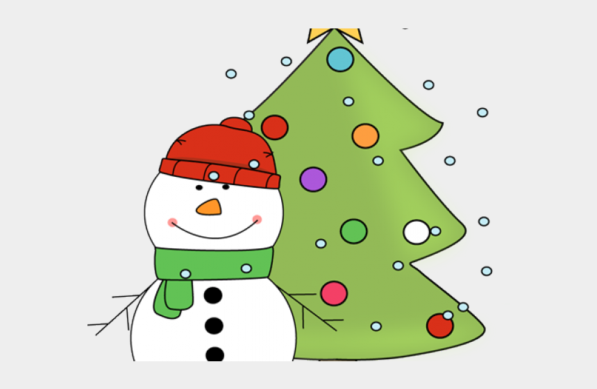 christmas tree clipart, Cartoons - Christmas Tree Clipart Snowman - Christmas Polar Bear Clipart