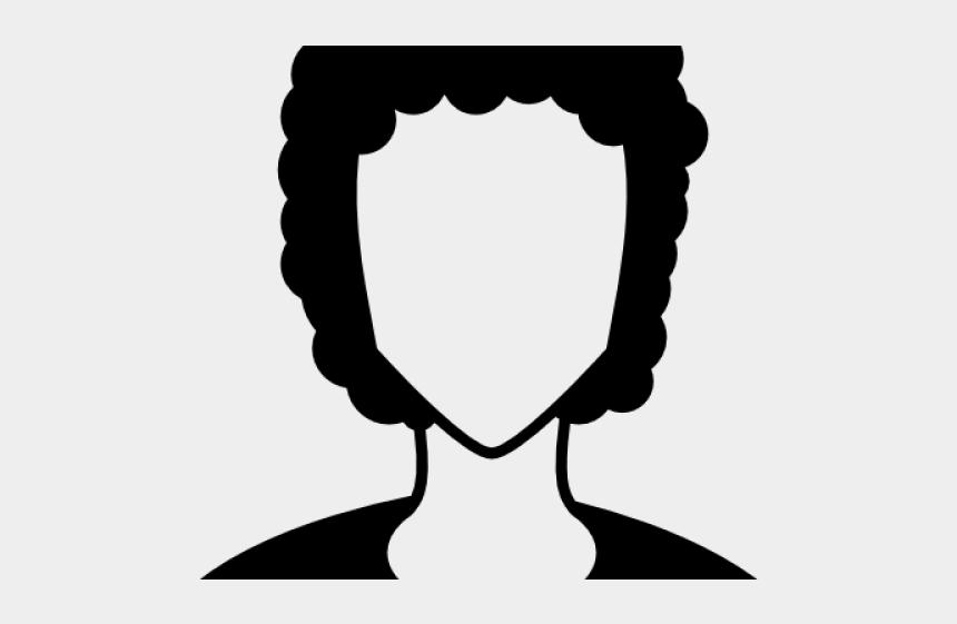 short clipart, Cartoons - Long Curly Hair Men Vector