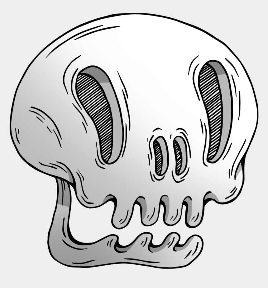 happy skeleton clipart, Cartoons - Killer Drawing Skeleton - Skull