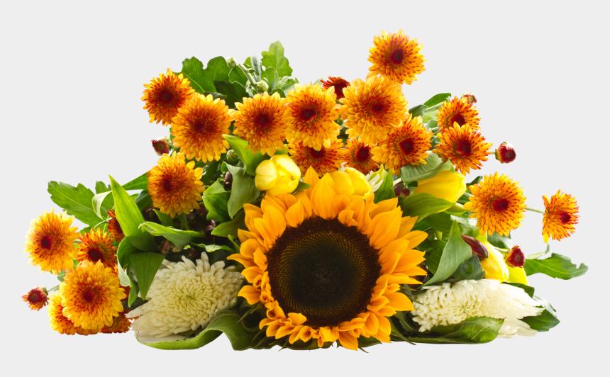 sunflower bouquet clipart, Cartoons - Sunflower Bouquet Png
