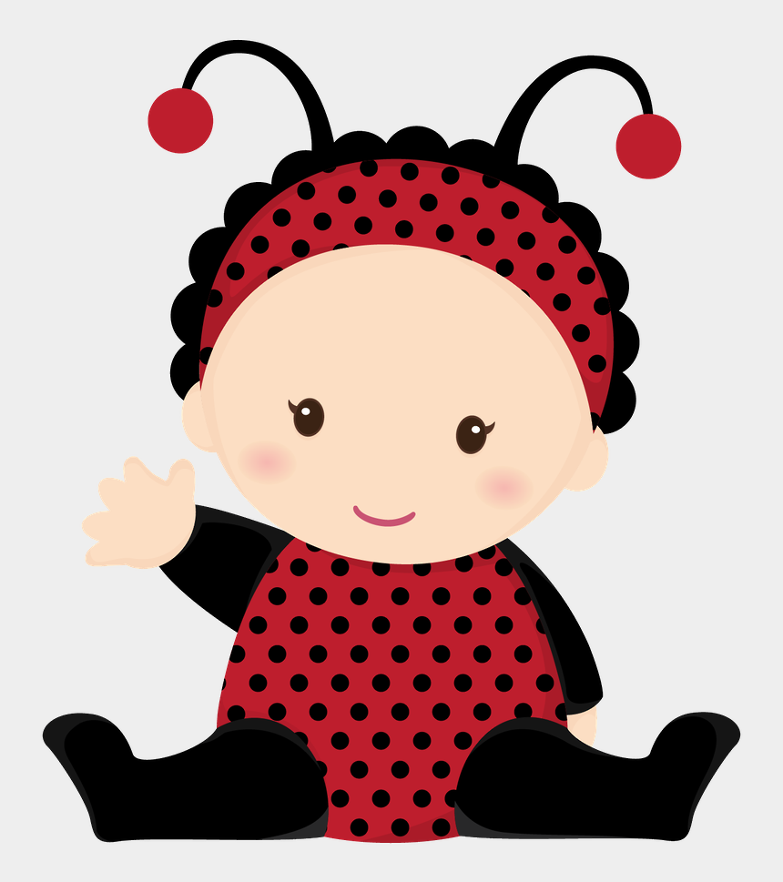 cute baby ladybug clipart, Cartoons - Beb Menino E Menina Minus Insect Clip Ⓒ - Baby Ladybug Images Cartoon