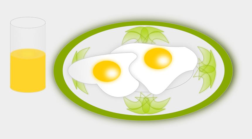 breakfast plate clipart, Cartoons - Breakfast - Fried Egg