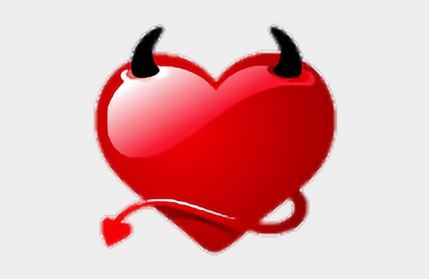 devil heart clipart, Cartoons - #heart #hearts #devil #demon #love #lovecore #aesthetic - Aesthetic Devil Emoji