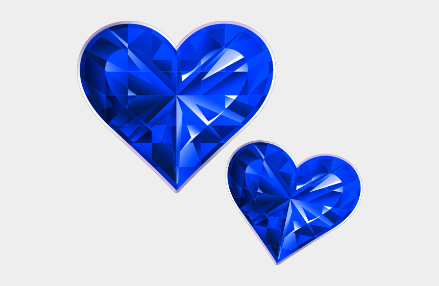 diamond heart clipart, Cartoons - #mq #blue #heart #hearts #diamond #diamonds - Heart