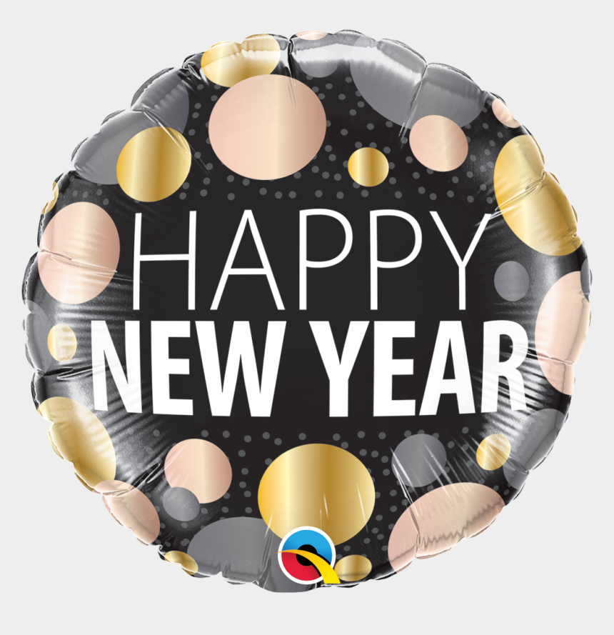 new year confetti clipart, Cartoons - Qualatex Balloons New Year