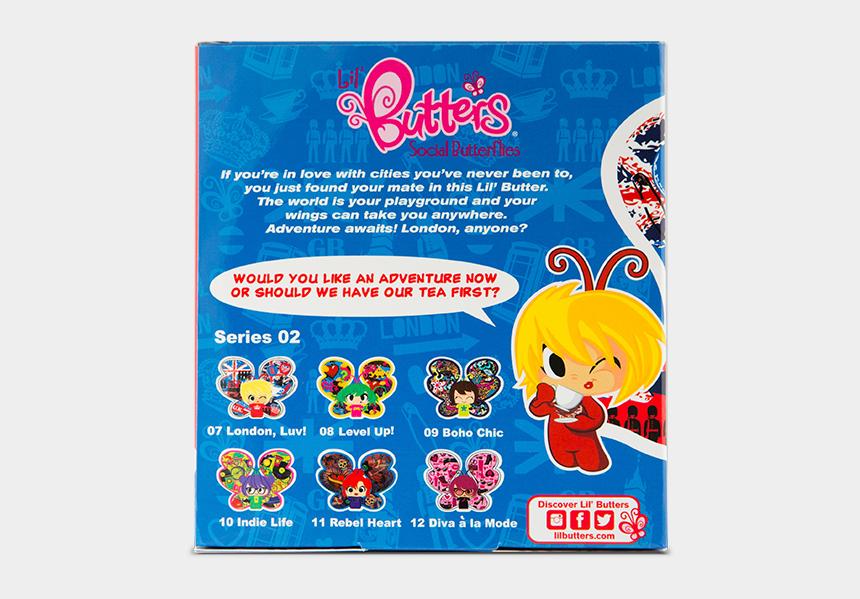 i love london clipart, Cartoons - Lil Butters Social Butterflies