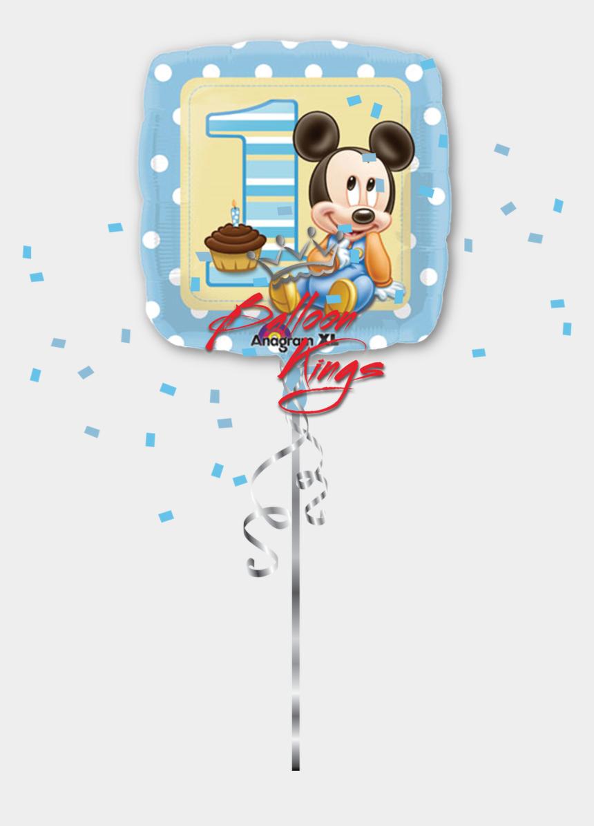 mickey balloons clipart, Cartoons - 1st Birthday Boy Baby Mickey - Baby Mickey Mouse Birthday