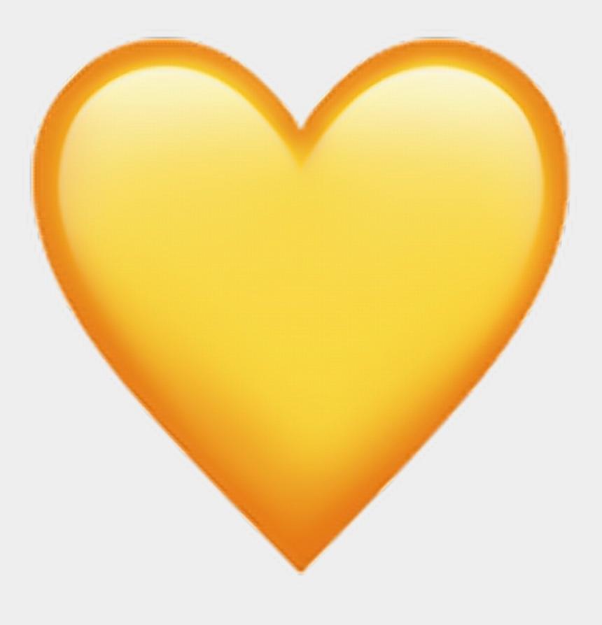 chevron heart clipart, Cartoons - Heart Clipart Yellow - Emoji Yellow Heart Png