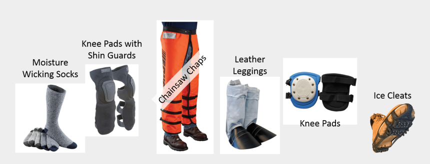 feet on desk clipart, Cartoons - Image With Examples Of Foot And Leg Personal Protective - Legs And Feet Ppe