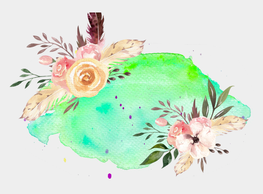 flower header clipart, Cartoons - #flowers #vinesandleaves #colourful #header #logo #textart - Artificial Flower