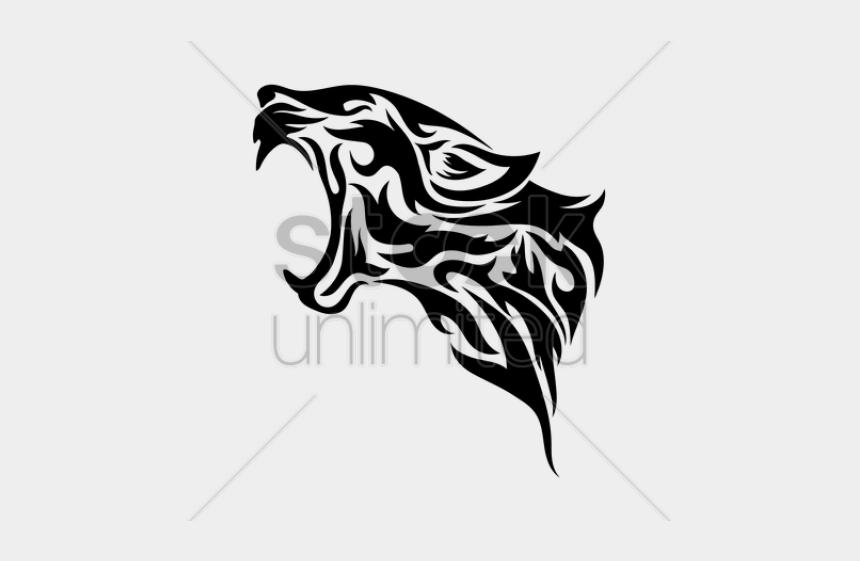 marlin clipart black and white, Cartoons - Drawn Leopard Tribal - Tribal Leopard Tattoo Designs