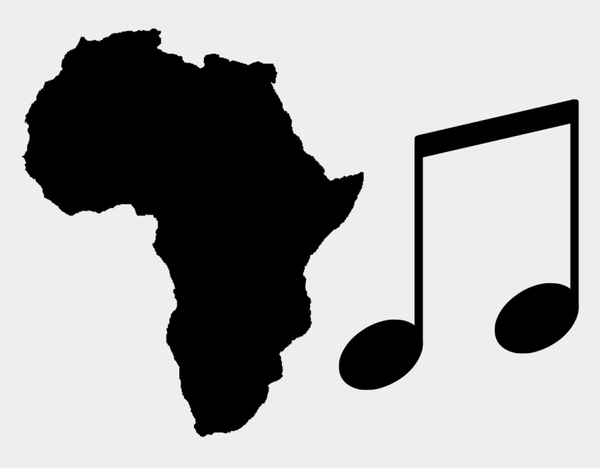 continents clipart black and white, Cartoons - Africa Continent Png - Map Of Africa Black