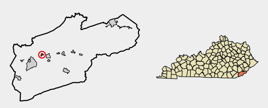 tacky tourist clipart, Cartoons - Map Of Kentucky