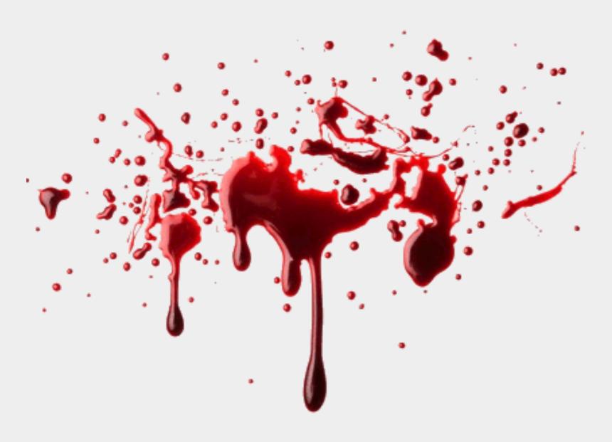 halloween blood clipart, Cartoons - #blood #bloody #bloodsplatter #halloween - Realistic Blood Splatter Transparent
