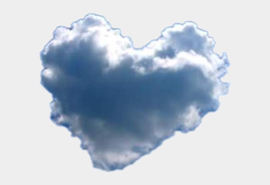 heart cloud clipart, Cartoons - #heart #cloud - Heart Cloud Transparent